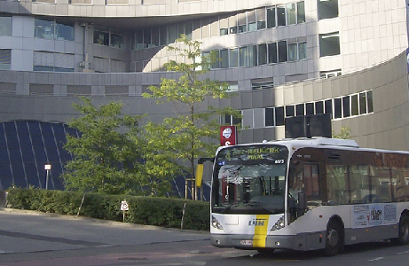 Bus in Aalst