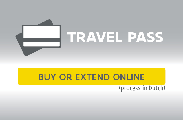 Travel pass: buy or extend online (process in Dutch)