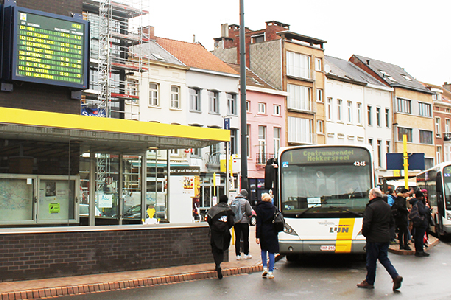 Busstation in Mechelen