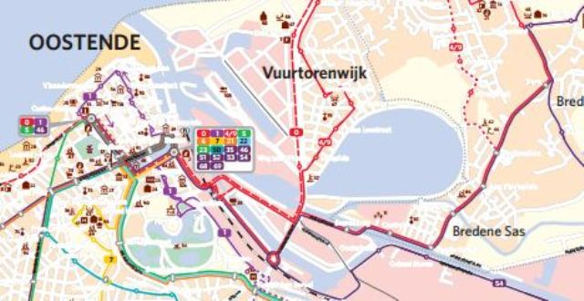 Network maps West-Vlaanderen