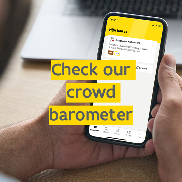 Check our crowd barometer