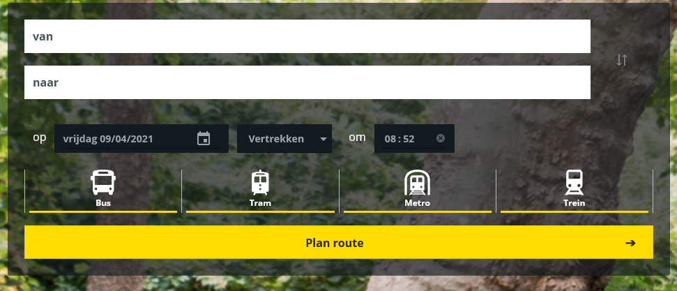 Route planner on your website